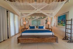 Upstairs bedroom 1 at Villa Nilaya Bali Near Candi Dasa
