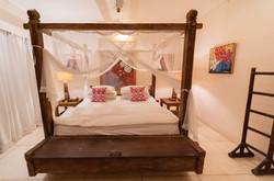 Master bedroom ground floor Villa Nilaya Bali Near Candi Dasa