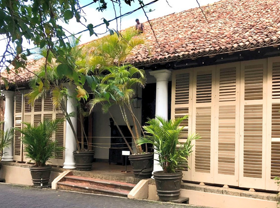 Colonial mansions in Galle Fort