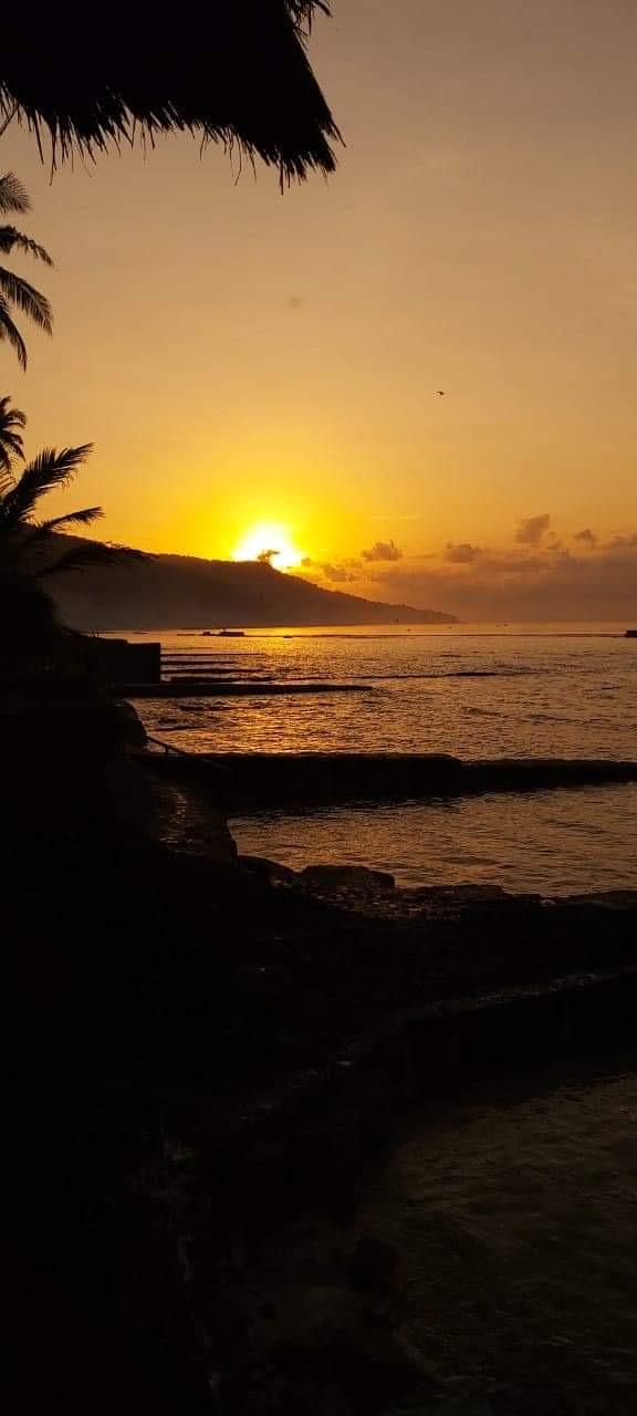 Sunrise at Villa Nilaya Bali Near Candi Dasa