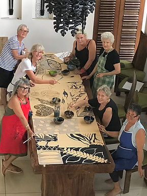 Painting Retreat with Jenni Doherty in Bali