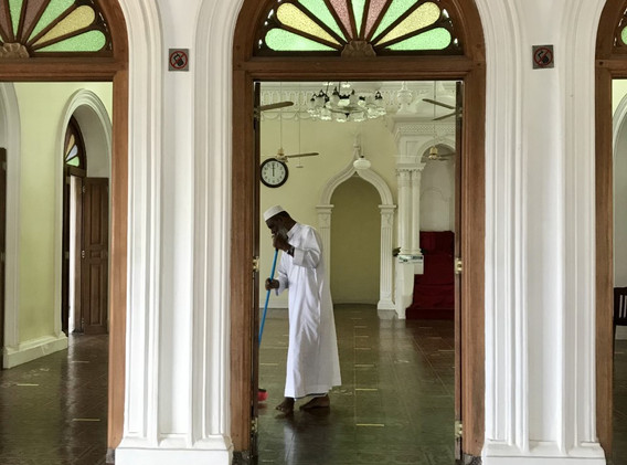 Before Prayers in Galle Fort Mosque.jpg