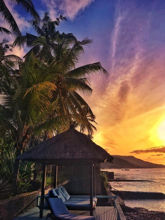 Villa Nilaya Bali Near Candi Dasa Golden Sunrise