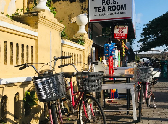 The oldest Tea Rooms in Galle Fort