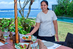 Our fabulous chef Ketut