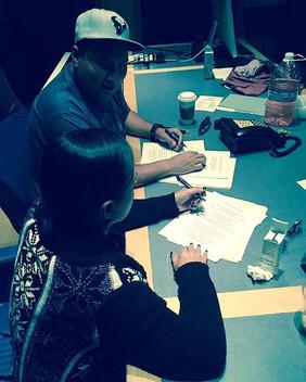En el estudio con Elida Reyna y Avante