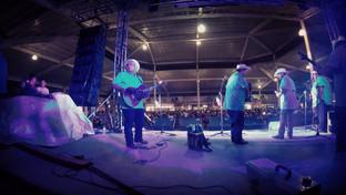 en el Monterrey con DLG y Los Musicales