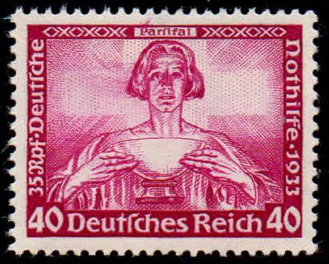 Deutsches Reich Mi.-Nr. 507A Attest postfrisch (Michel 1.000€)