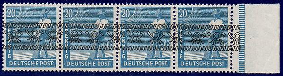 Bizone Mi.-Nr. 43 I d mit AF P II Attest postfrisch (Michel 640€)