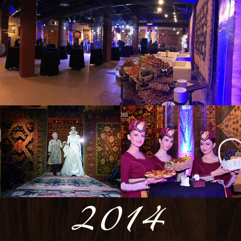 The unveiling of the Megerian Event Center