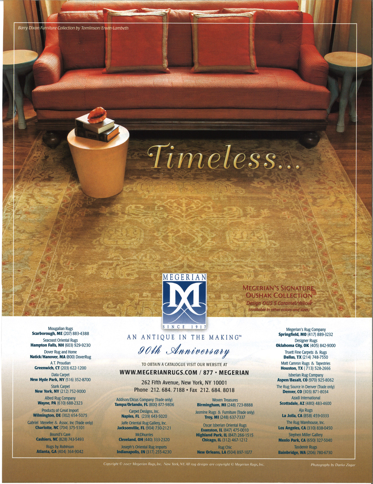 Advertisements New York Megerian Rugs