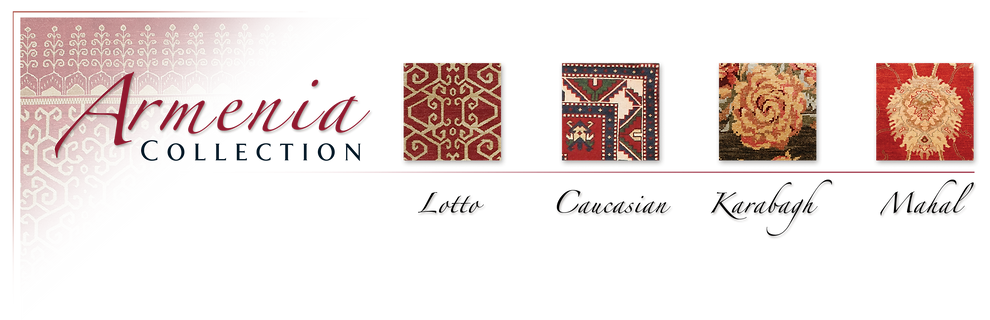 Megerian Rug Gallery's Armenia Collection of signature handmade rugs