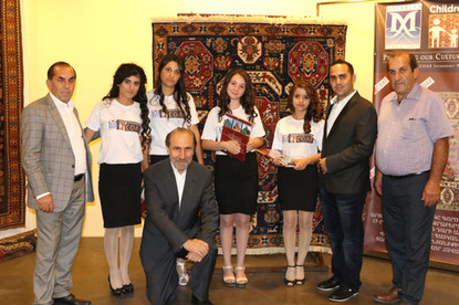 """The COAF Megerian """"Cutting of the Loom"""" Ceremony"""