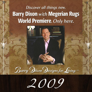 Designer Barry Dixon and Megerian Rugs unveil Rug Collection