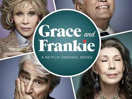 O super comedie cu actori mari. Jane Fonda si Lilly Tomlin aka Grace and Frankie
