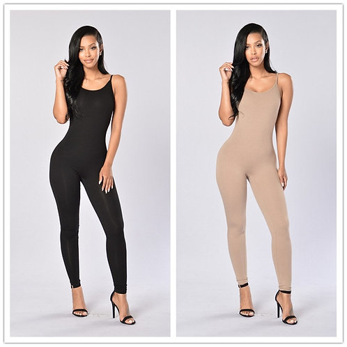 Women's Slim Summer Jumpsuit