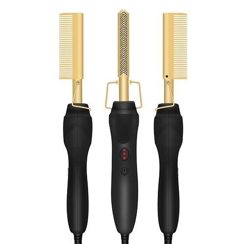 Heating Comb Hair Straightener
