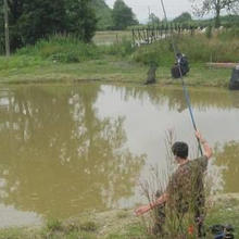 Fishing at Bluebell Park