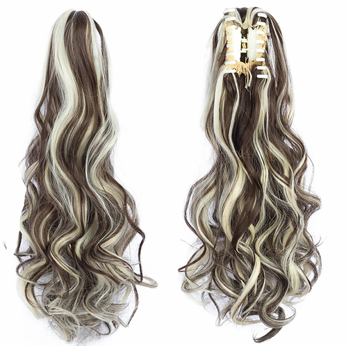 Claw-Clip Wavy Ponytail Extension