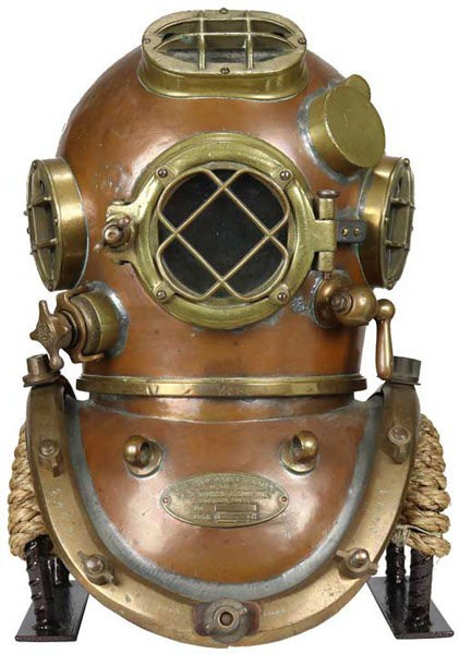 Antique Diving Helmets oldhelmet.com