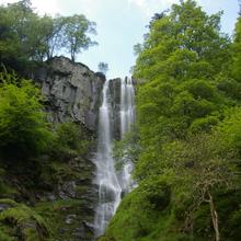 Waterfall at Pistyll Rhaeadr