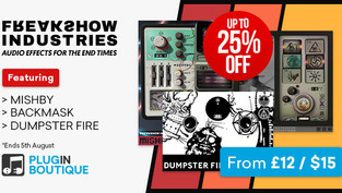 Freakshow Industries Introductory Sale