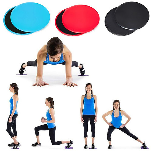 Workout Slide Discs, 2pcs