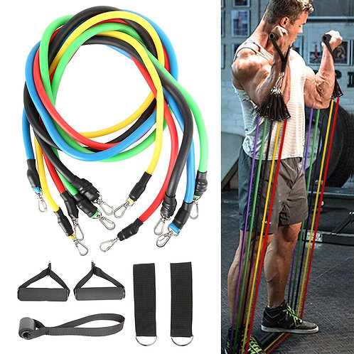 11 Pcs/Set Fitness Resistance Bands