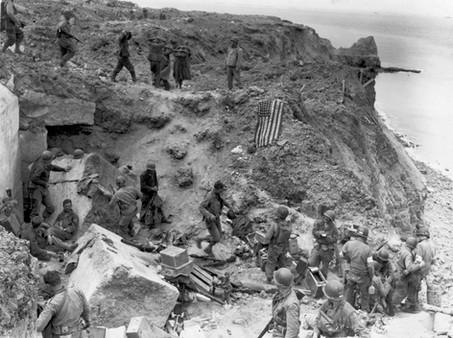D-Day Limerick about Pointe Du Hoc