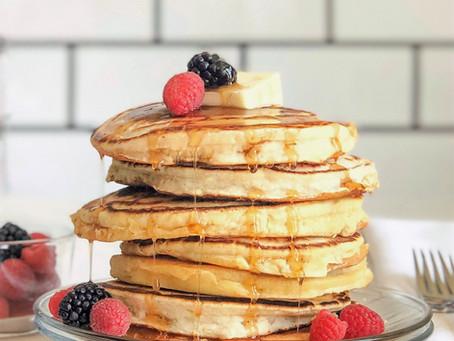 Warm Spice Buttermilk Pancakes