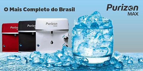 purificador com ozônio com água gelada