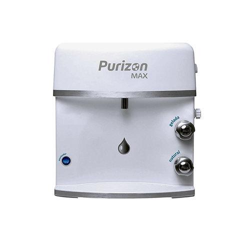 Purificador de Água Gelada Purizon Max Ozônio, Alcalino e Bacteriológic - Branco
