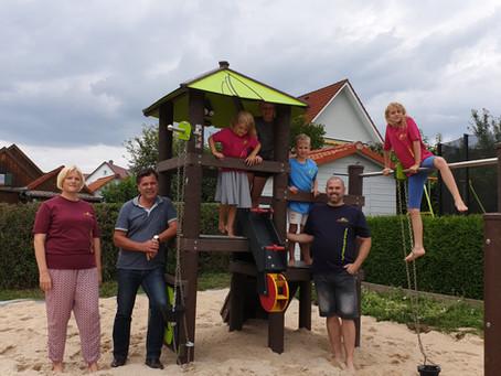 Sandspielplatz für Burgoberbach
