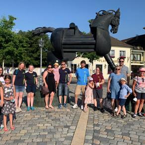 Gemeinsame Stadtführung in Ansbach