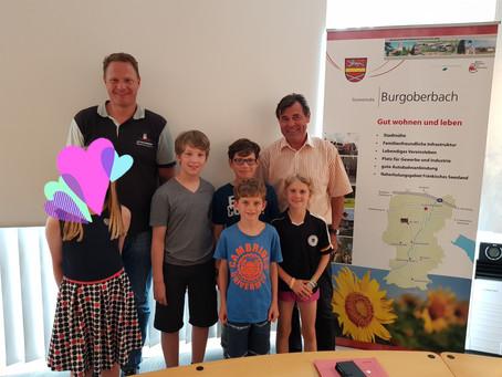 Kinder- und Jugendforum beim Bürgermeister
