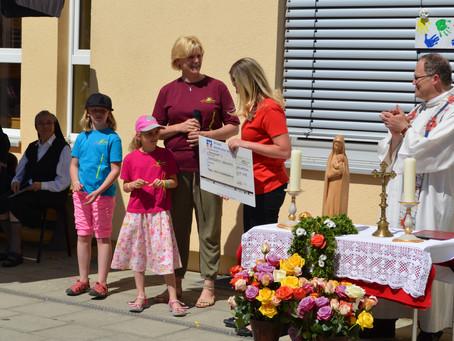 Spende an die Burgoberbacher Kindergärten