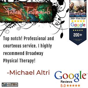 bpt - google testimonial - Michael Altri