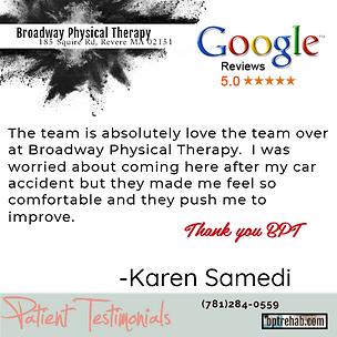 bpt - Google Testimonial - Karen Samedi.