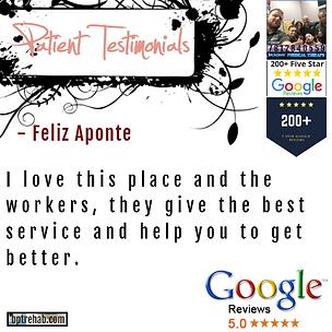 bpt - google testimonial - Feliz Aponte.