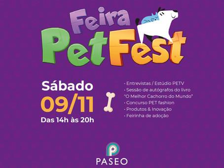 Feira Pet Fest no Paseo Zona Sul