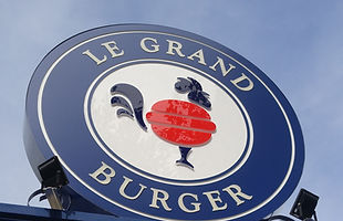 Letreiro Hamburgueria Porto Alegre Le Grand Burger