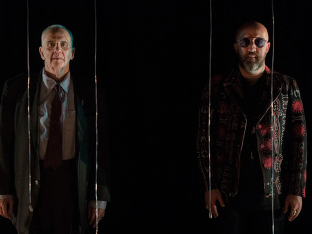 Fabrício Carpinejar e Carlos Nejar em encontro poético