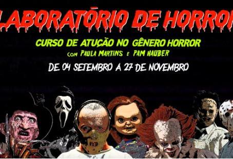 """Curso de Atuação para audiovisual """"Laboratório do Horror"""""""