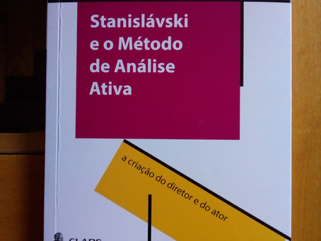 """Lançamento do livro """"Stanislávski e o Método de Análise Ativa"""""""