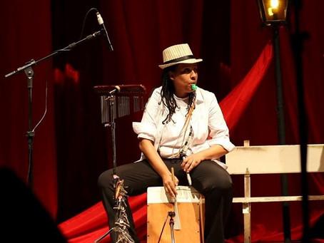Projeto Música na Calçada com Alexsandra Amaral