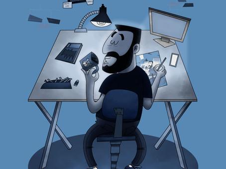 Oficina Rabiscando Ideias – Da cabeça pro papel