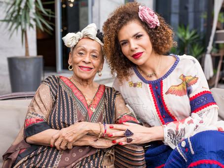 Vanessa da Mata e Omara Portuondo em Porto Alegre