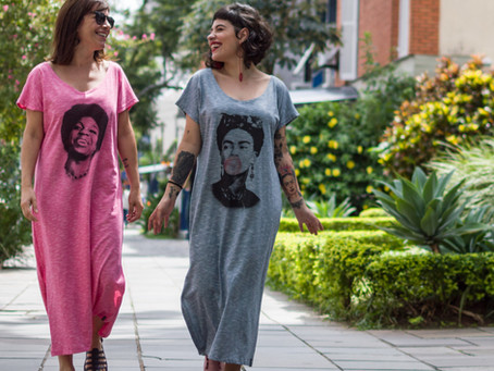 Coleção Mulheres Pano Pop