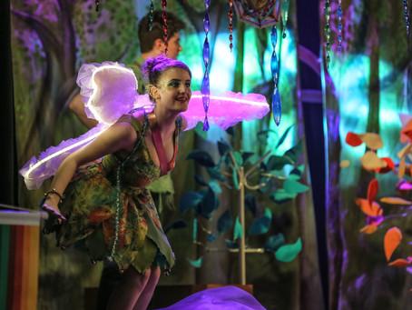 Projeto Interior na Casa recebe o espetáculo Peter Pan: A Magia Continua