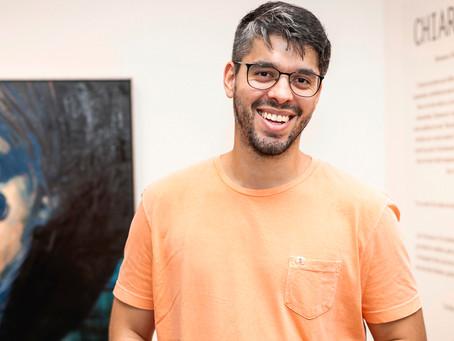 Curso de arte com Theo Felizzola na Gravura Galeria